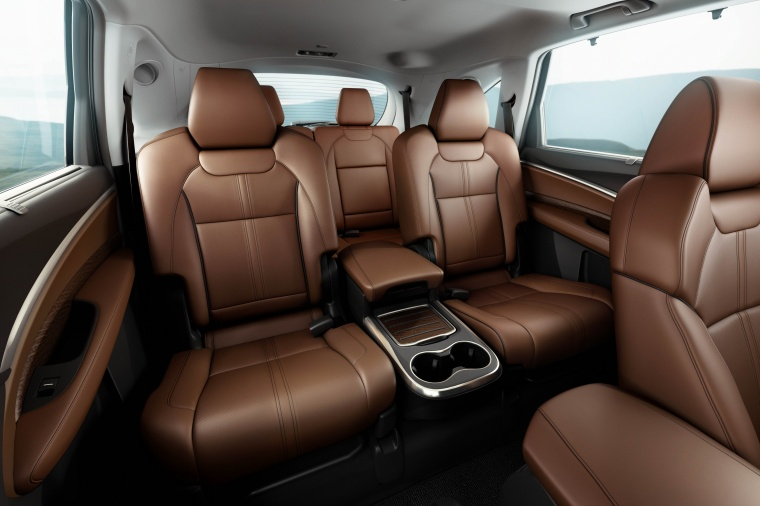 2017 Acura MDX Rear Seats Picture