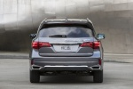 2017 Acura MDX Sport Hybrid in Modern Steel Metallic - Static Rear View