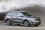 2017 Acura MDX Sport Hybrid in Modern Steel Metallic - Static Front Right Three-quarter View