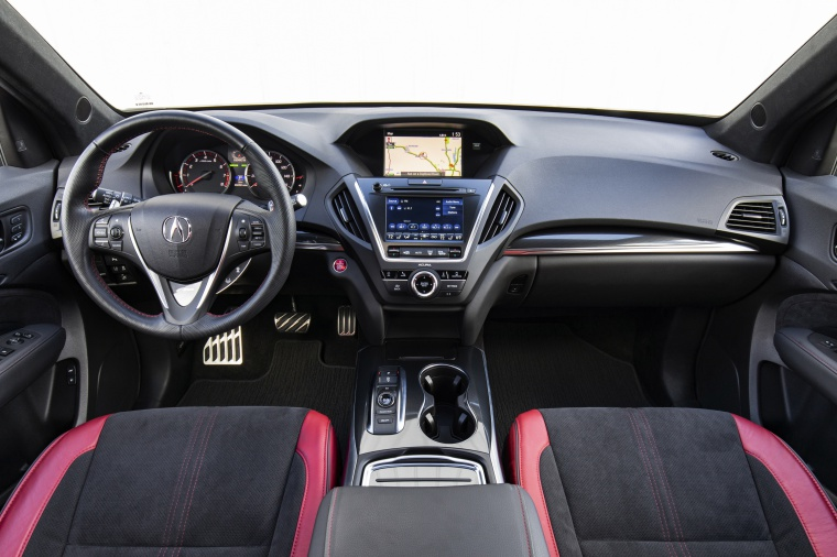 Picture of a 2019 Acura MDX A-Spec's Cockpit