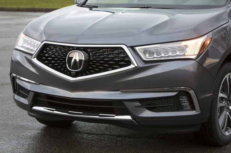 Picture of a 2019 Acura MDX Sport Hybrid's Front Fascia
