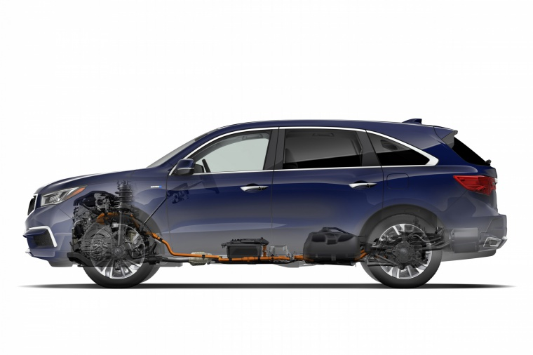 Picture of a 2019 Acura MDX Sport Hybrid's Technology