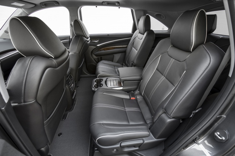 Picture of a 2019 Acura MDX Sport Hybrid's Rear Seats