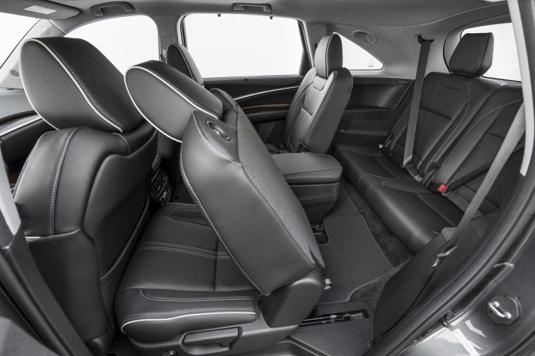 Picture of a 2019 Acura MDX Sport Hybrid's Third Row Seats