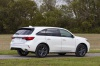 Picture of a 2019 Acura MDX A-Spec in White Diamond Pearl from a rear right three-quarter perspective