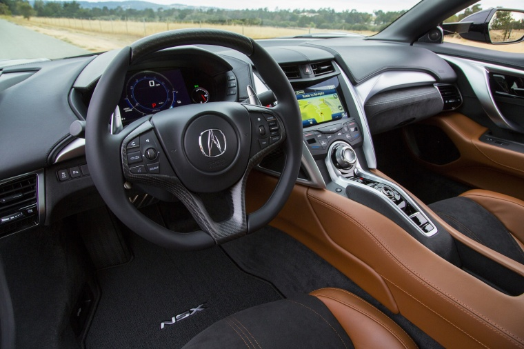 2017 Acura NSX Sport Hybrid SH-AWD Interior Picture