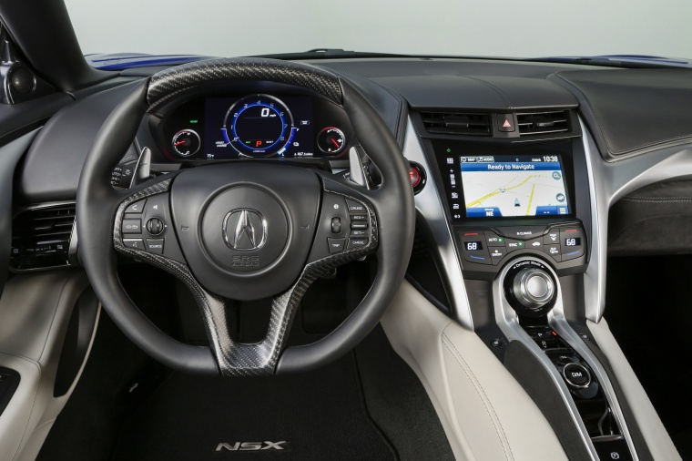 2017 Acura NSX Sport Hybrid SH-AWD Cockpit Picture