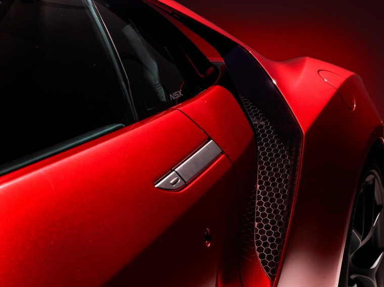 2017 Acura NSX Sport Hybrid SH-AWD Side Vent Picture