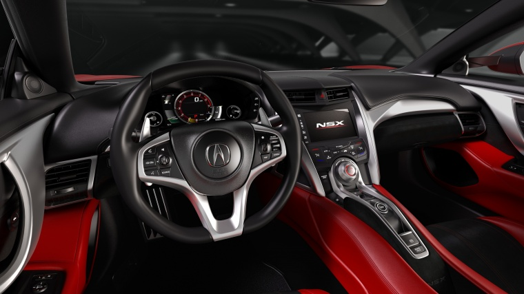 2017 Acura NSX Sport Hybrid SH-AWD Cockpit Picture