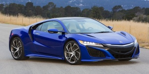 Research the 2017 Acura NSX