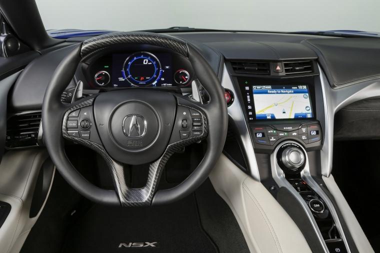 2018 Acura NSX Sport Hybrid SH-AWD Cockpit Picture