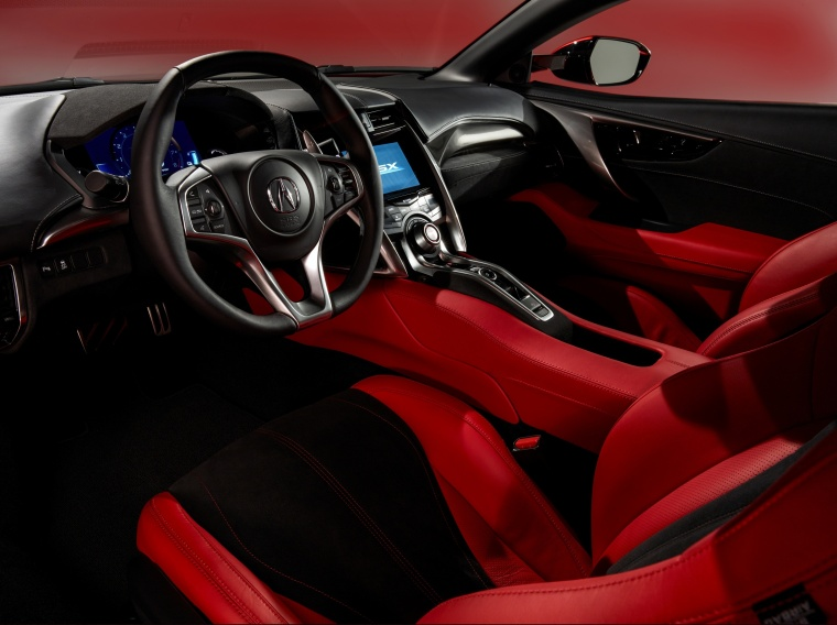 2018 Acura NSX Sport Hybrid SH-AWD Interior Picture