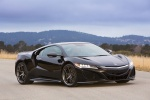 2018 Acura NSX Sport Hybrid SH-AWD in Berlina Black - Static Front Right Three-quarter View