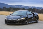 2018 Acura NSX Sport Hybrid SH-AWD in Berlina Black - Static Front Left View