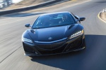 2018 Acura NSX Sport Hybrid SH-AWD in Berlina Black - Driving Frontal View