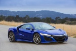 2018 Acura NSX Sport Hybrid SH-AWD in Nouvelle Blue Pearl - Static Front Right Three-quarter View