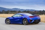 2018 Acura NSX Sport Hybrid SH-AWD in Nouvelle Blue Pearl - Static Rear Left Three-quarter View