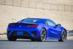 2018 Acura NSX Sport Hybrid SH-AWD in Nouvelle Blue Pearl - Driving Rear Right View
