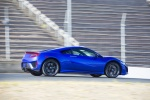 2018 Acura NSX Sport Hybrid SH-AWD in Nouvelle Blue Pearl - Driving Rear Right Three-quarter View