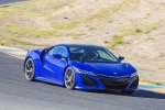 2018 Acura NSX Sport Hybrid SH-AWD in Nouvelle Blue Pearl - Driving Front Right Three-quarter View