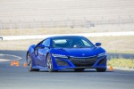 2018 Acura NSX Sport Hybrid SH-AWD in Nouvelle Blue Pearl - Driving Front Right View