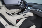 2018 Acura NSX Sport Hybrid SH-AWD Front Seats