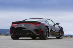 2018 Acura NSX Sport Hybrid SH-AWD in Berlina Black - Static Rear Right View