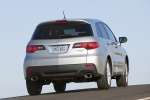 2011 Acura RDX in Palladium Metallic - Static Rear Right View