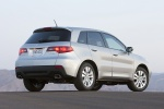 2011 Acura RDX in Palladium Metallic - Static Rear Three-quarter View