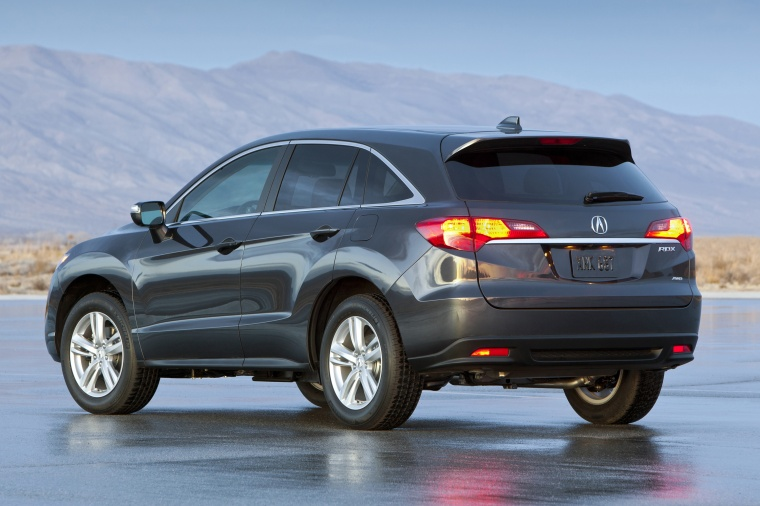 2013 Acura RDX in Graphite Luster Metallic Color - Static - Rear Left View Picture | Image
