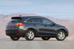2013 Acura RDX in Graphite Luster Metallic - Static Rear Three-quarter View