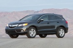 2013 Acura RDX in Graphite Luster Metallic - Static Front Left View