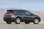 2015 Acura RDX in Graphite Luster Metallic - Static Rear Three-quarter View