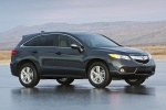2015 Acura RDX in Graphite Luster Metallic - Static Front Three-quarter View