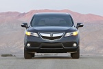 2015 Acura RDX in Graphite Luster Metallic - Static Frontal View