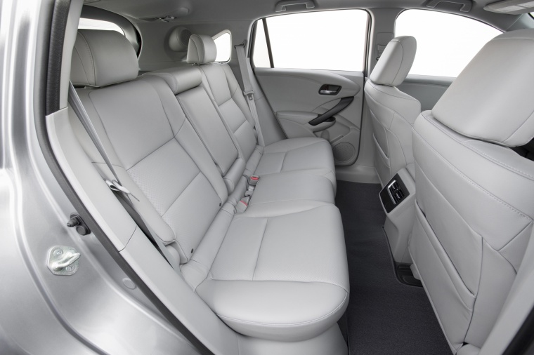 2017 Acura RDX AWD Rear Seats Picture
