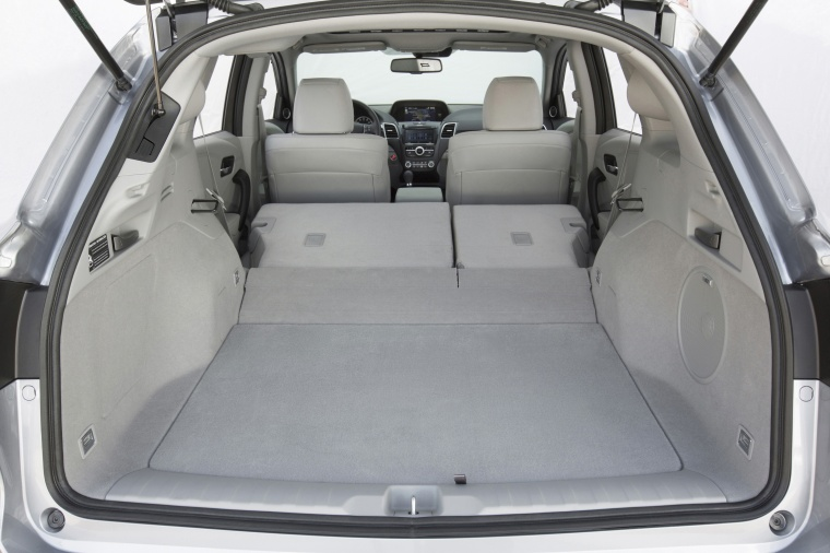 2017 Acura RDX AWD Trunk with seats folded Picture