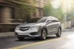 2017 Acura RDX AWD in Lunar Silver Metallic - Driving Front Left View