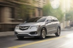 2018 Acura RDX AWD in Lunar Silver Metallic - Driving Front Left View