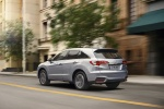 2018 Acura RDX AWD in Lunar Silver Metallic - Driving Rear Left View