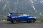 Picture of a 2020 Acura RDX A-Spec Package SH-AWD in Apex Blue Pearl from a right side perspective