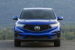 Picture of a 2020 Acura RDX A-Spec Package SH-AWD in Apex Blue Pearl from a frontal perspective