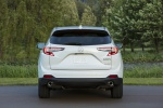 Picture of a 2020 Acura RDX SH-AWD in Platinum White Pearl from a rear perspective