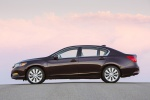 Picture of 2014 Acura RLX Sport Hybrid in Pomegranate Pearl