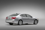 2015 Acura RLX in Silver Moon - Static Rear Right Three-quarter View