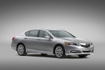 2015 Acura RLX in Silver Moon - Static Front Right Three-quarter View