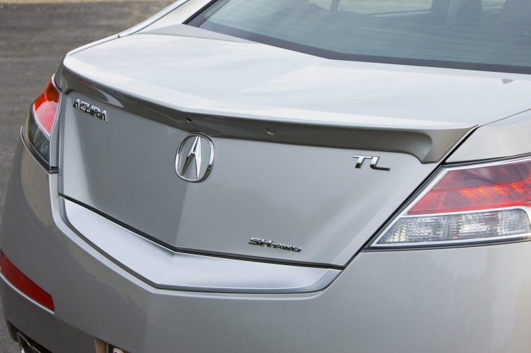 2010 Acura TL SH-AWD Tail Lights Picture