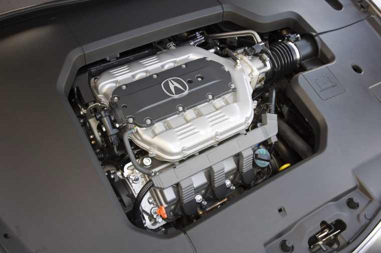 2010 Acura TL SH-AWD 3.7-liter V6 Engine Picture
