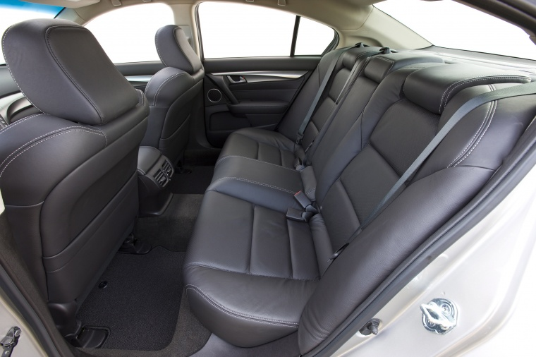2010 Acura TL SH-AWD Rear Seats Picture
