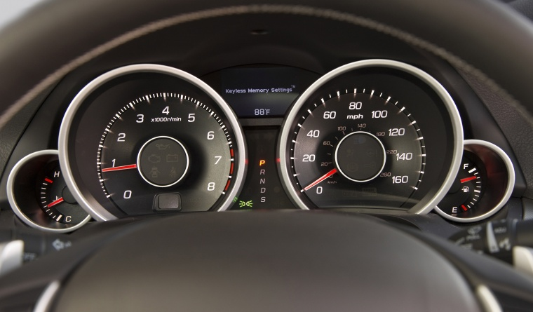 2010 Acura TL SH-AWD Gauges Picture
